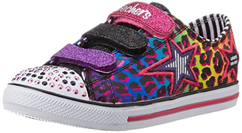 Skechers KIDS S-LIGHTS CHIT CHAT - PROLIFICS Größe 32 BLACK MULTI
