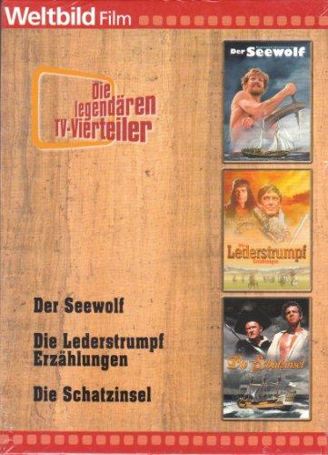 Der Seewolf/Die Lederstrumpf Erzählungen/Die Schatzinsel