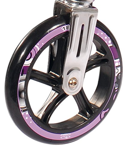 PU-Rolle Hudora Big Wheel 180 mm Ø lila/schwarz f.Mod.14746 (1 Stück)