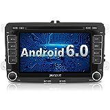 PUMPKIN Android 6.0 Autoradio DVD Player Moniceiver mit GPS Navigation