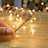 #5: Quace Copper String Light (USB Powered 30 LED)