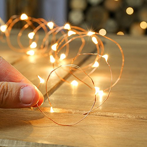 Quace Copper String Led Light 3M 30 LED USB Operated Wire Decorative...