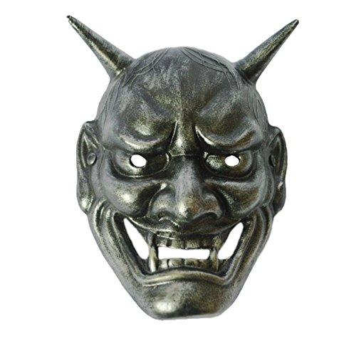 Teufel Maskerade Maske (Halloween Maske Horror Volles Gesicht Grimasse Maske Kostüm Dämon)