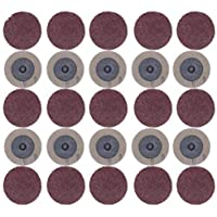 BXU-BG 100 unids disco de lijado para Roloc 50mm 40 60 80 120 grano lijadora disco disco abrasivo Rotary Herramientas Accesorios