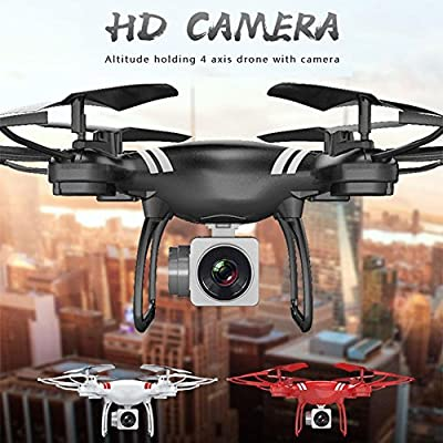 RC Drone 2.4GHz 6-axis Gyroscope Quadcopter Headless mode 360 Rotate FPV Altitude Hold with HD 2.0MP Camera Drone Real-Time Transmission Aerial Remote Control Aircraft 5G Wifi Dedicated ESC Large Modu