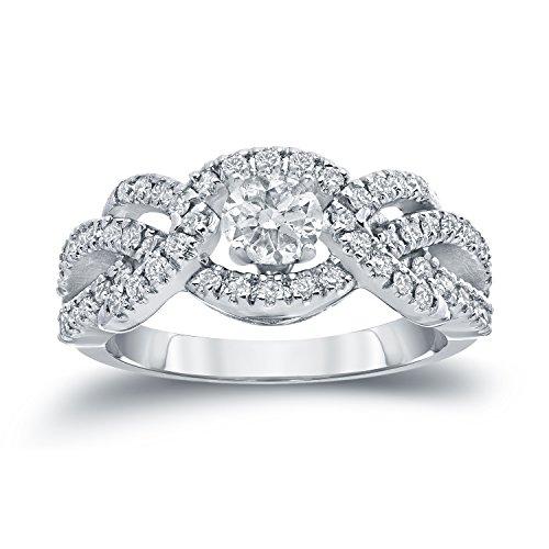�gold Rund Leicht Getöntes Weiß/Top Crystal (I) Weißer Diamant ()
