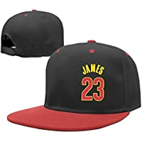 Feruch Kids/Children LeBron James Adjustable Hip Hop Baseball Caps Hats Red