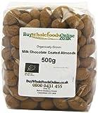 Buy Whole Foods Organic Milk Chocolate Coated Almonds 500 g