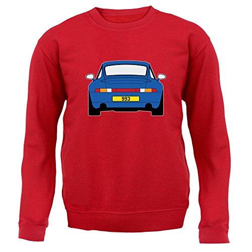 Porsche 993 Blau - Unisex Pullover/Sweatshirt - 8 Farben Rot
