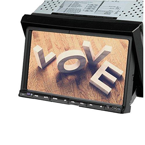 Autoradio 2 Din 7 pouces HD šŠcran tactile numšŠrique lecteur DVD de voiture double din stšŠršŠo de voiture au tableau de bord Bluetooth Autoradio lecteur audio vidšŠo prend en charge FM AM SD USB iPod Autoradio