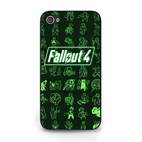 Hardshell Protective Fallout Phone Case Cover for Cover iphone 4/4s Fallout Hot Selling