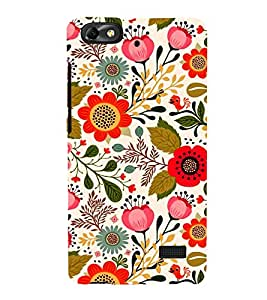 EPICCASE blossom flowers Mobile Back Case Cover For Xiaomi Redmi Mi4c (Designer Case)