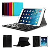 iPad 2017 Edition New Pad Funda con Teclado Bluetooth ,CoastaCloud iPad 2017 Funda Cubierta Protectora con Teclado Inalambrico QWERTY Español para Apple iPad 2017 (A1822, A1823)