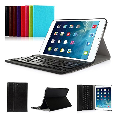 iPad 2017 9.7'' New Pad Funda con Teclado Bluetooth ,CoastaCloud iPad 2017 9.7'' Funda Cubierta Protectora con Teclado Inalambrico QWERTY Español para Apple iPad 2017 (A1822, A1823)