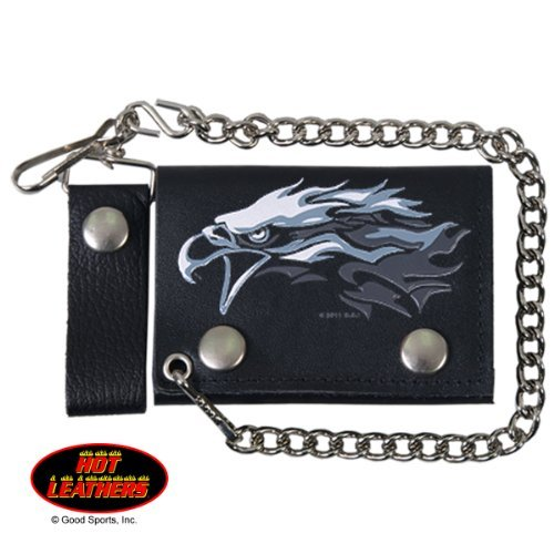 Hot Leathers, TRIBAL EAGLE, Detachable Chain & Leather Belt Loop