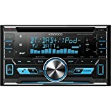 Kenwood DPX-7000DAB Sintolettore CD/USB 2DIN con Bluetooth Integrato, Nero