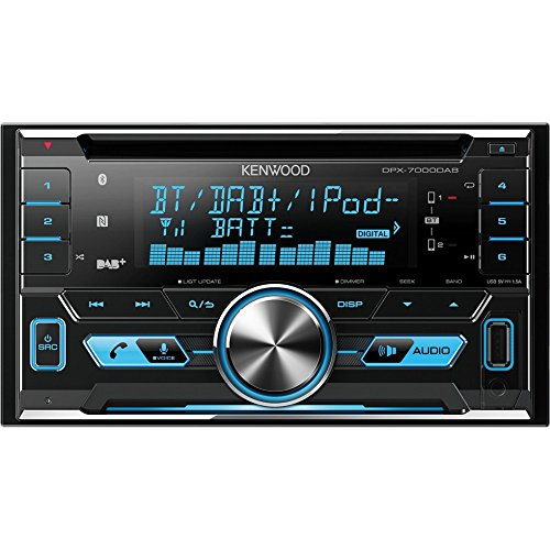 Kenwood DPX7000DAB Doppel-DIN-Receiver mit Apple iPod-Steuerung, Bluetooth-Freisprecheinrichtung und DAB+ - Kenwood Radio Kabelbaum