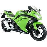 Skynet 1/12 productos terminados moto Kawasaki Ninja250 verde lima