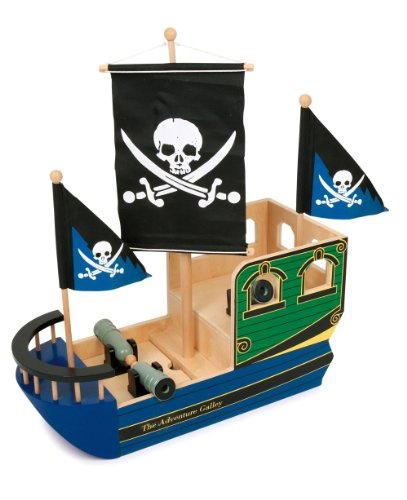 Small Foot Company 1163 - Piratenschiff Totenkopf