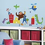 Roommates Lazoo Boy Wall Decals