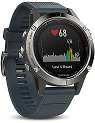 Garmin fēnix 5 GPS-Multisport-Smartwatch - 24/7 Herzfrequenzmessung am Handgelenk, zahlreiche Sport- & Navigationsfunktionen, 1,2 Zoll (3cm) Farbdisplay