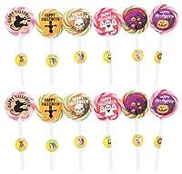 TOONPOPS LOLLIPOPS TPH25R Halloween Lollipops, 300 Grams (Pack of 12)