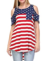 3804ceef7e98 Amazon.it  bandiera americana  Abbigliamento