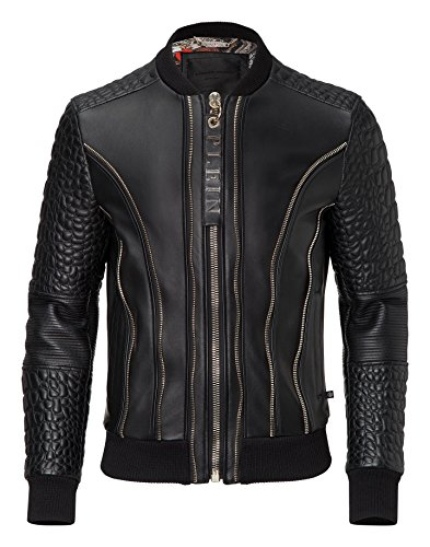 "Philipp Plein Lederjacke ""COMMON"""