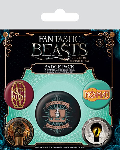 Preisvergleich Produktbild Anstecker-Paket Fantastic Beasts