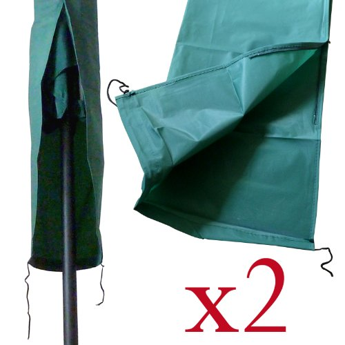 ABDECKUNG-Wäscheständer Wäscheleine, mit Reißverschluss, 2er-Packung