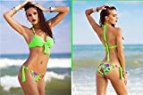 XM Mode Bikini Maillot De Bain En Deux Pièces Sens Féminin De L'Acier Soins Ensemble , Green , 2Xl,green,2xl