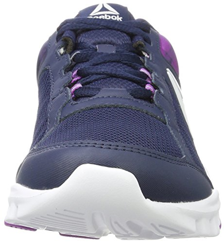 Reebok Damen Royal Ultra SL Sneaker Blau (Collegiate Navy/vicious Violet/white)
