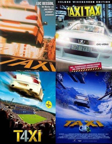 Taxi 1 + 2 +3 + 4 Samy Naceri, Frédéric Diefenthal (4-DVD's)