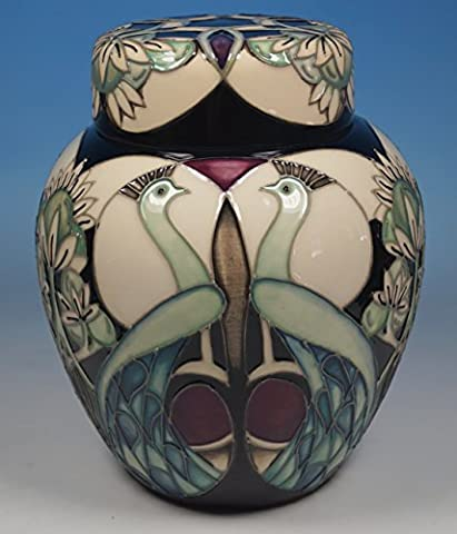A MOORCROFT Arts And Crafts TALWIN Ginger Jar 769/6 Nicola Slaney 1st RRP £585