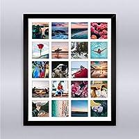 Cuadro Collage 20 fotos, Incluye Marco de Madera. Inmortaliza tus más bellas fotografías en
