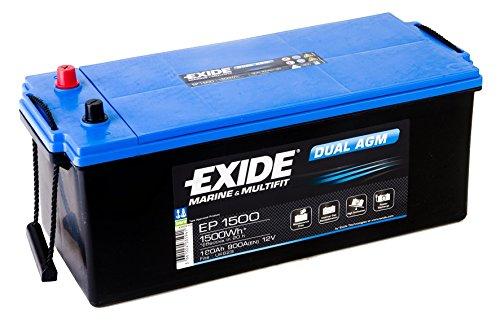 Exide Batterie Dual AGM 180 Ah