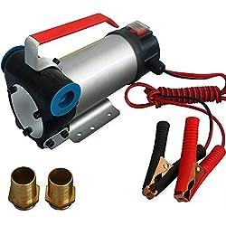 Bomba Gasóleo Aceite Fueloil 40 l/min 12 V 160 W Accesorios
