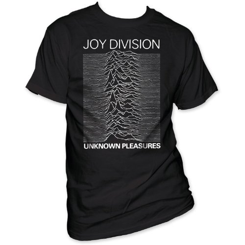 Old Glory Mens Joy Division - Unknown Pleasures T-Shirt