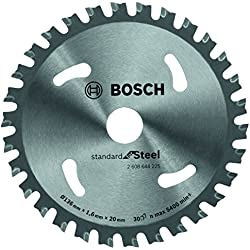 Bosch 2608644225 Lame de scie circulaire standard for steel 136 x 20 x 1,6 x 30 mm