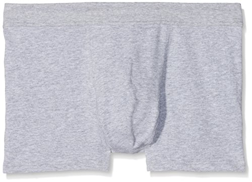 Lovable Herren Cotton Stretch Short, 2er Pack Grigio (026/Grigio Mela)