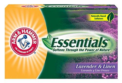 Essentials Toallitas antiestáticas perfumadas para secadora