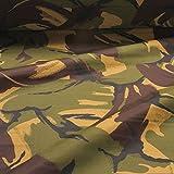 Stoff Polyester Flecktarn DPM England UK Camouflage
