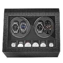 HBselect luxuriöser automatischer Uhrenwender Uhrenvitrine