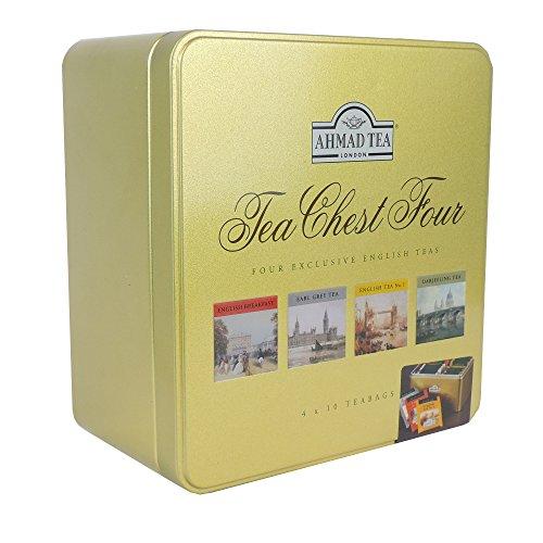 Ahmad Tea - Tea Chest Four 40 Teabags -