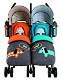 Cosatto You2 Polka Dogs Twin Stroller