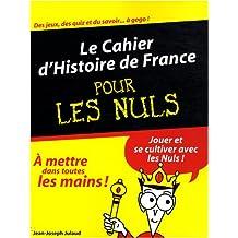 CAHIER HIST FRANCE PR LES NULS