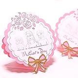 Senoow 3D Pop Up Ich Liebe Mama Grußkarten Geburtstag Weihnachten Muttertag Geschenk
