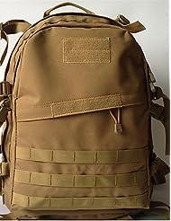 ZQ 50L L Paquetes de Mochilas de Camping Acampada y Senderismo / Escalar Al Aire Libre / RendimientoListo para vestir / Multifuncional / A , mud color