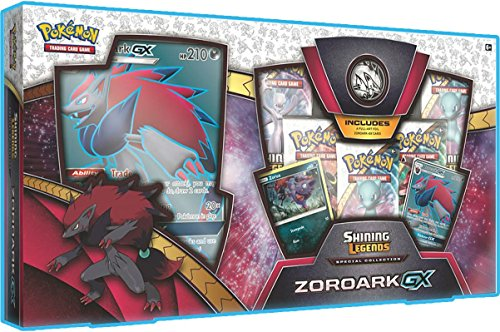 Pokemon TCG : Shining Legends Collection Zoroark Gx boîte