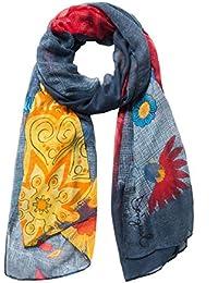 139a8af87330f Amazon.fr   Desigual - Echarpes et foulards   Accessoires   Vêtements